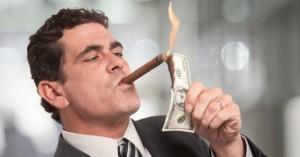 Banker-smoking-cigar-dollar-USD
